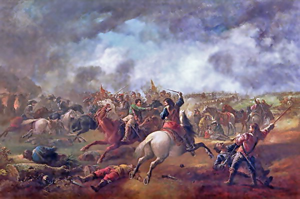 The Battle of Marston Moor, by J. Barker