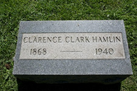 Clarence Clark Hamlin (1868-1940), my paternal g-grandfather