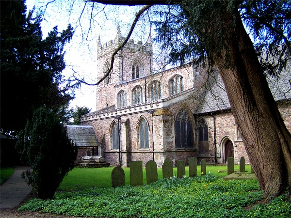 Cossington parish church