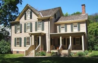 Cleveland's birthplace, in Caldwell, New Jersey