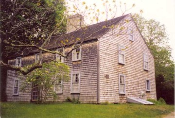 The John Alden House is a historic house museum that was purportedly home to John and Priscilla Alden. It is located at 105 Alden Street in Duxbury, Massachusetts.