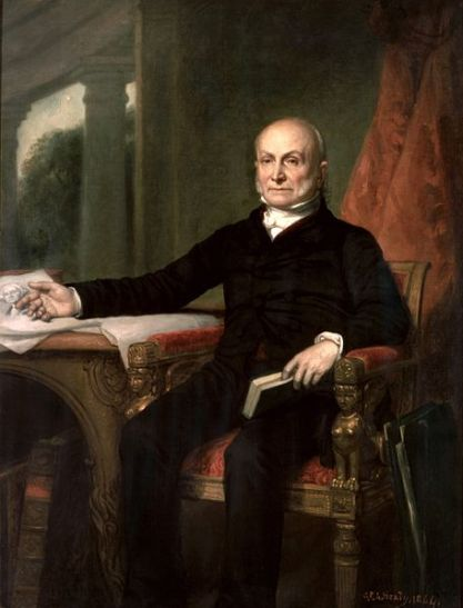 John Quincy Adams (1767-1848), 6th President of the United States