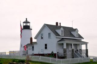 Another view of the lighthouse (photo credit: Sharon Reese-Coggswell)