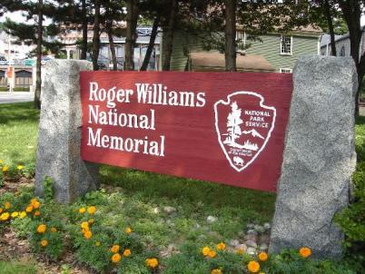 Roger Williams National Memorial - location: N 41° 49.880 W 071° 24.645 (photo credit: tiki-4, 25 Aug 2005)