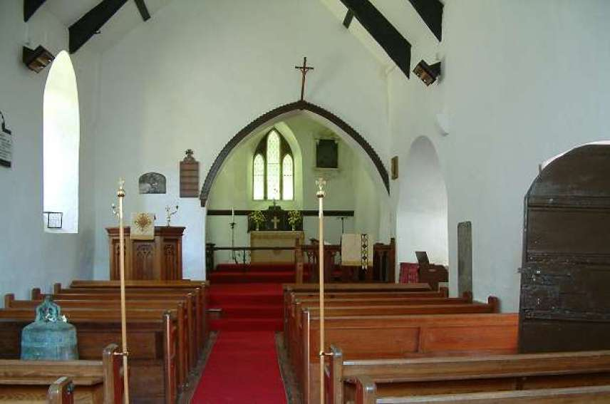 St. Illtyd Church nave