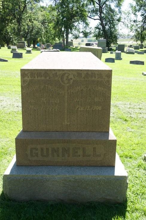 Thomas Allen Gunnell (1821-1906), my paternal 3rd g-grandfather