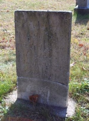 The monument to Joseph Allen and Daniel Allen in Ellisburg, New York may not actually mark the remains of these men, who died in Massachusetts.  One source indicates that Daniel is buried in the Linden Grove Cemetery in Westport, Massachusetts.  The stone pictured is not legible from the photograph.