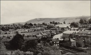 White Horse from Church Tower (photo courtesy of Westbury Visitor Centre, 1 High Street, Westbury)