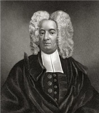 Cotton Mather, Puritan minister (about 1700)