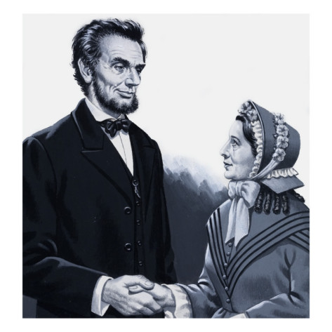 Harriet Beecher Stowe & President Lincoln