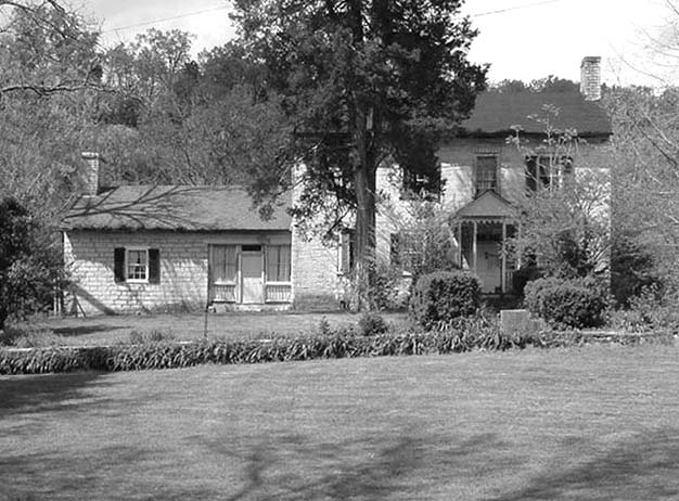 Olympia Du Puy Trabue House, Griers Creek Road (photo 2005)