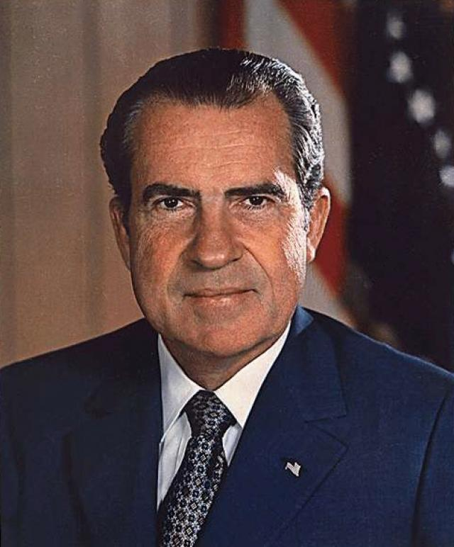 Richard M. Nixon, 37th President of the United States