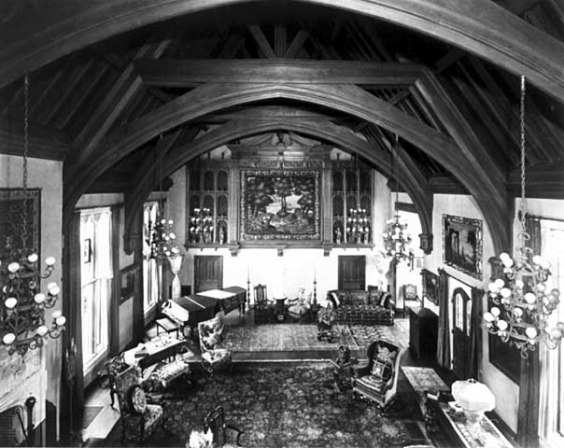 Great hall from minstrel's gallery