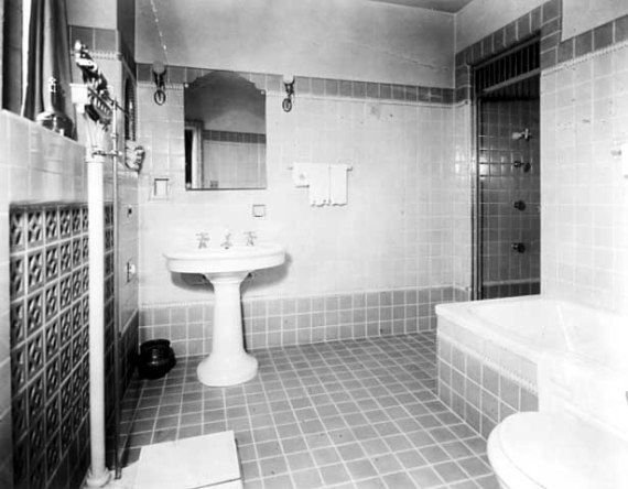 Miss Watkin's bathroom