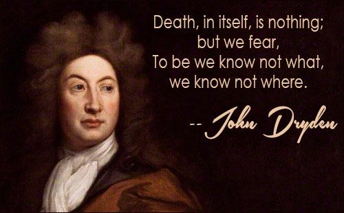 John Dryden, poet (1631-1700)