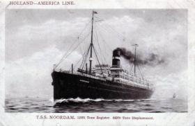 T.S.S Noordam, later known as S.S. Kungsholm (SAL)