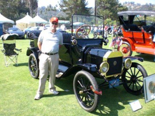 My Dad - Marty Hylbom, at a car show in Pasadena, California - June 2008