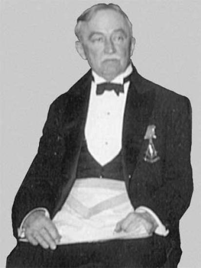Alfred S. Burbank (1856 – 1946), photo taken 1932