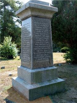 Marshfield (Massachusetts) Founders Monument