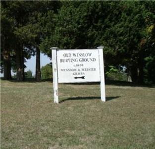 Old Winslow Burying Ground, Marshfield, Massachusetts