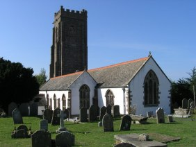 The Church of St Decuman in Watchet, Somerset, England has a 13th century chancel with the rest of the church being from the 15th century.