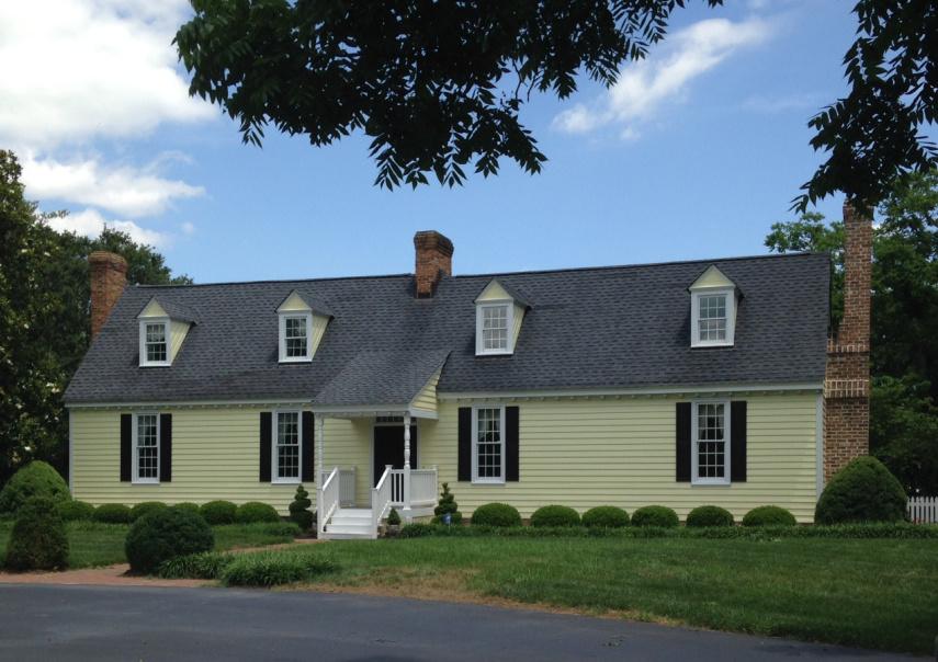 "The Waller ""Endfield"" property (1700 block of Walkerton Road, Walkerton, Virginia) – photo credit, Amy Shook, taken 20 Jun 2014"