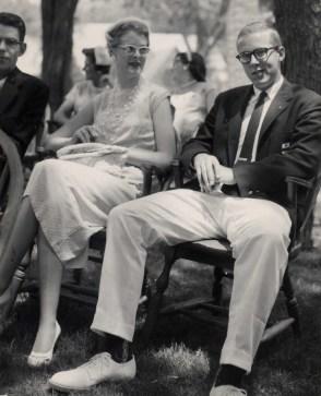 Skip & Ingrid Hetfield and Martin Hylbom - Kent School graduation, 1958