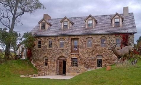 """Old Stone House"" in Avondale, Nova Scotia (realtor photo taken 2012)"
