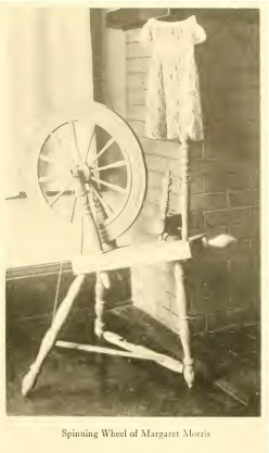 Spinning Wheel of Margaret Morris