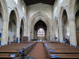 All Saints Church in Westbury Leigh (photo credit: Danette Percifield Cogswell, May 2013)
