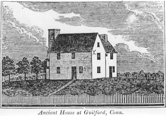 Whitefield House, illustration from about 1836