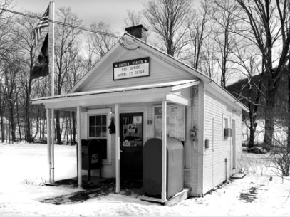 The post office in Rupert, Vermont is one of the smallest, and definitely the cutest, post office in the state, and possibly in the country. (photo credit: John Sutton)