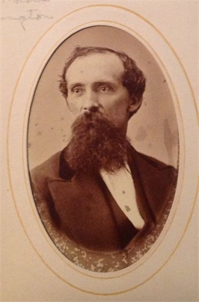 John Turley Gunnell (1796-1867) moved from Kentucky to Illinois after the death of his first wife, Elizabeth Redd Major (1802-1821)