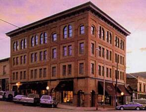 After remaining vacant for many years, the restored Victor Hotel building reopened for business in 1992.