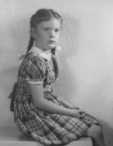 Penny Walholm, age 6 (2 Apr 1946)