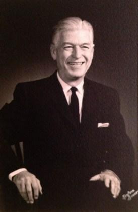 """Roy W. (""""Wally"""") Walholm, 1956"""