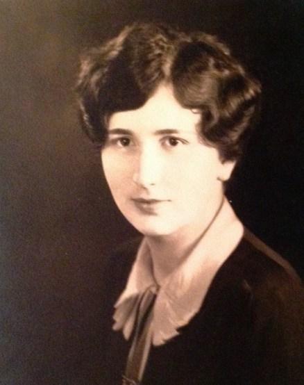 Florence E. Watkins - graudation photo, Emma Willard School; taken 1922