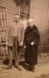 George Victor Walholm and Ella (Tuveson) Walholm, my maternal g-grandparents