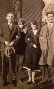 Elmer, Mildred & Nell Walholm - my grand uncle and grand aunts, Roy Willard Walholm