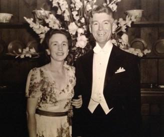 Florence & Roy Watkins, photo taken 5 Jun 1943
