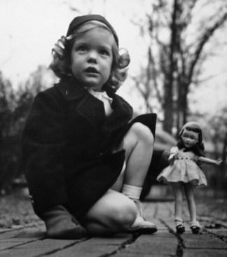 Penelope Jane Walholm, age 4 (22 Jan 1944, Winnetka, Illinois)
