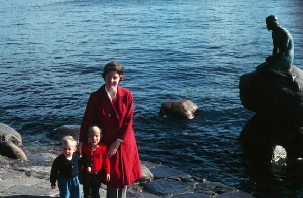Paul, Tor & Penny Hylbom, Copenhagen, Denmark (mid 1960s)
