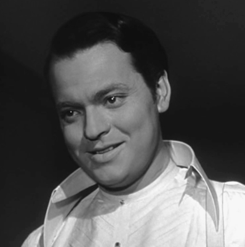 "Welles in the role of Charles Foster Kane (""Citizen Kane"", 1941)"