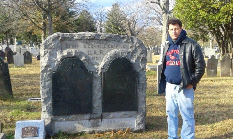 Walter Hetfield, 2nd cousin 8x removed to Sarah Hatfield (photo taken 29 Nov 2013, Rahway, New Jersey)