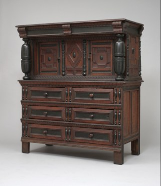 Howes-Prence Cupboard: The beautiful cupboard Mary brought to her second marriage to Gov. Thomas Prence (as his fourth wife) was purchased by Wallace Nutting and is on display at Wadsworth Atheneum in Hartford, Connecticut.