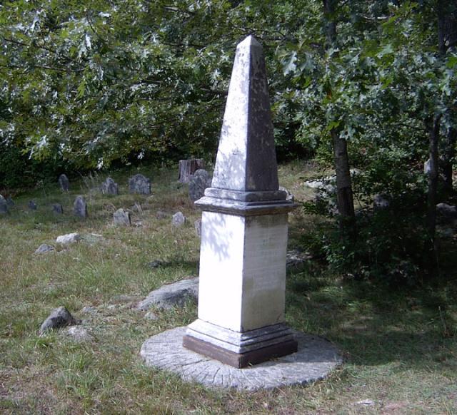 Thomas Howes Memorial - Howes Cemetery, Dennis, Barnstable, Massachusetts