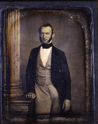 Henry Wells, Rochester, New York, Daguerreotype, 1844