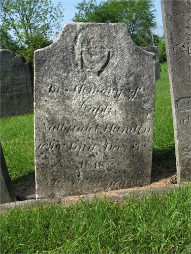 Nathaniel Hamlin (1739-1818) (photo credit: Gary Broughton); Hillside Cemetery, Sharon, Litchfield County, Connecticut