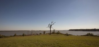 The 1,688-acre historic plantation at Swann's Point Plantation, with three miles of waterfront, was sold at auction in 2010 for $7.1 million. (photo credit: Bill Tiernan, The Virginian-Pilot, 2010)