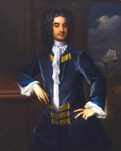 Colonel William Byrd II (1674-1744) was a planter, slave-owner and author from Charles City County, Virginia. He is considered the founder of Richmond, Virginia.